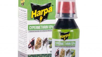 تصویر از سایپرمترین 10 درصد هارپا، شرکت کیمیا اکسیر شرق