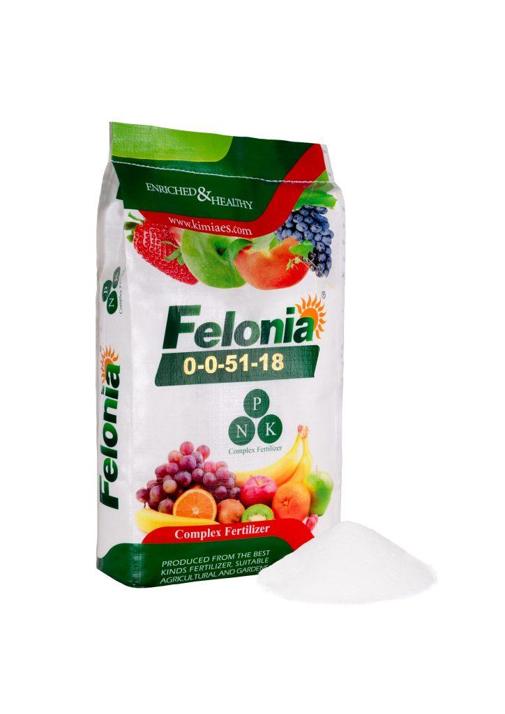 کود شیمیایی 18-51-0-0 سولوپتاس فلونیا